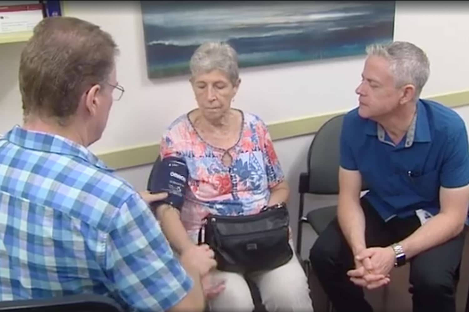 Elderly patients can come to our practice instead of hospital thanks to Open Arch program